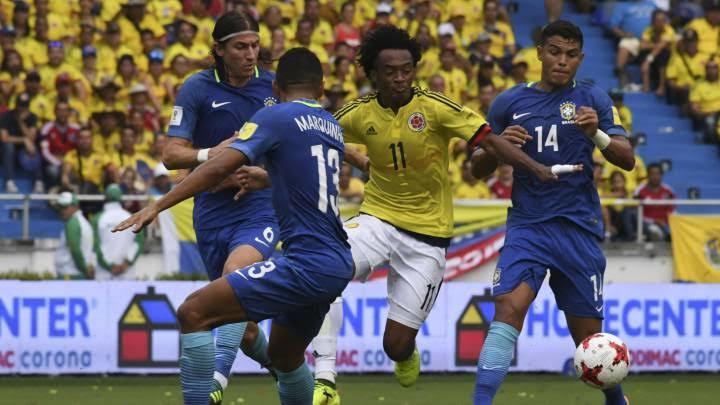 Brasil se enfrentará a Colombia