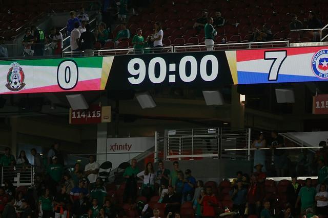 En Chile le recuerdan el 7-0 a luchador mexicano