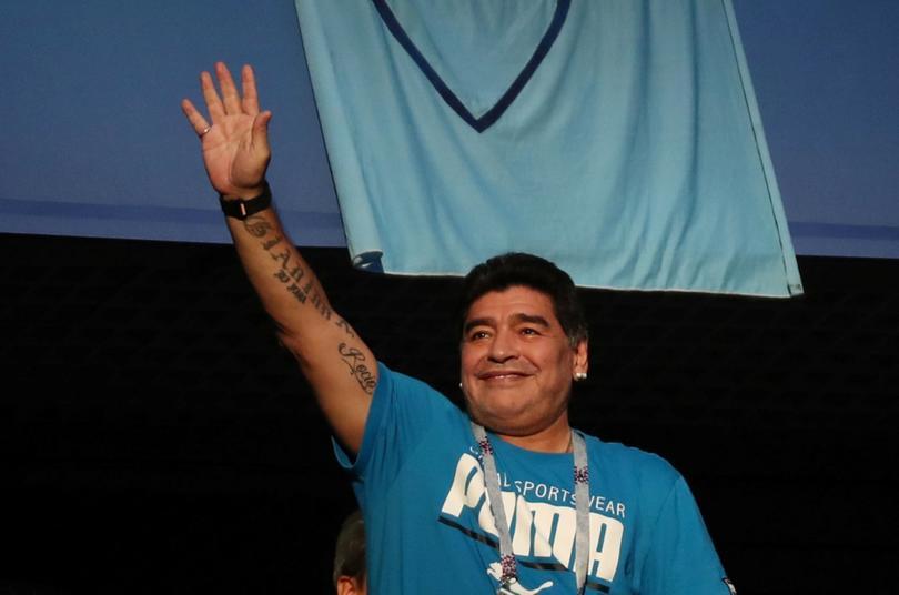 Maradona ha sido confirmado como técnico de Gimnasia y Esgrima La Plata