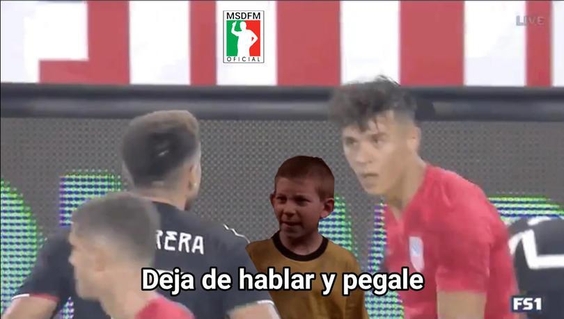 Los mejores memes del triunfo de México a Estados Unidos