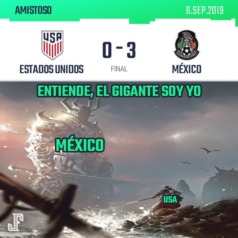 México demostró que es el gigante de la Concacaf