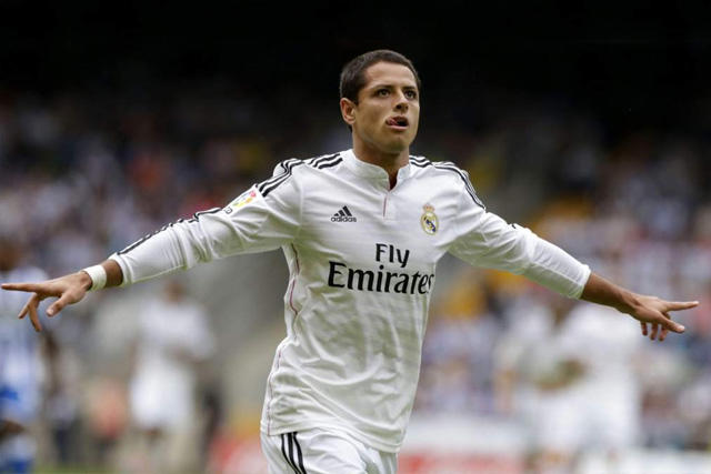 Chicharito en el Real Madrid