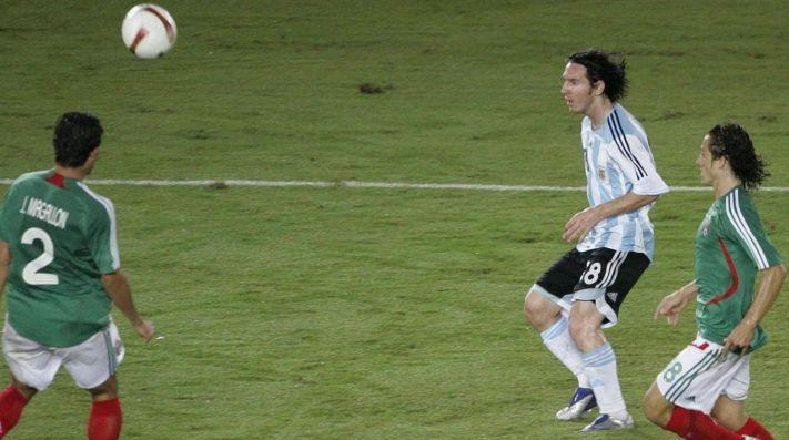 Messi marco un golazo para poner punto final a las aspiraciones mexicanas