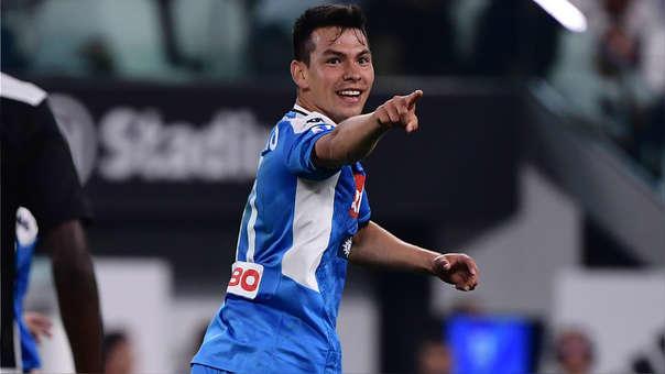 Hirving Lozano es el tercer mejor pagado del Napoli
