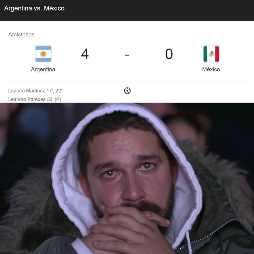 Los mejores memes del México vs Argentina