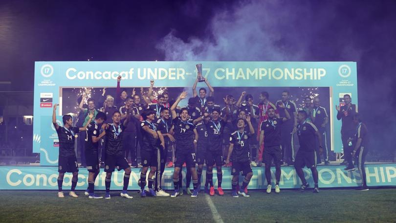 México ganó el Campeonato de Concacaf Sub-17 y va por el Tricampeonato de la categoría