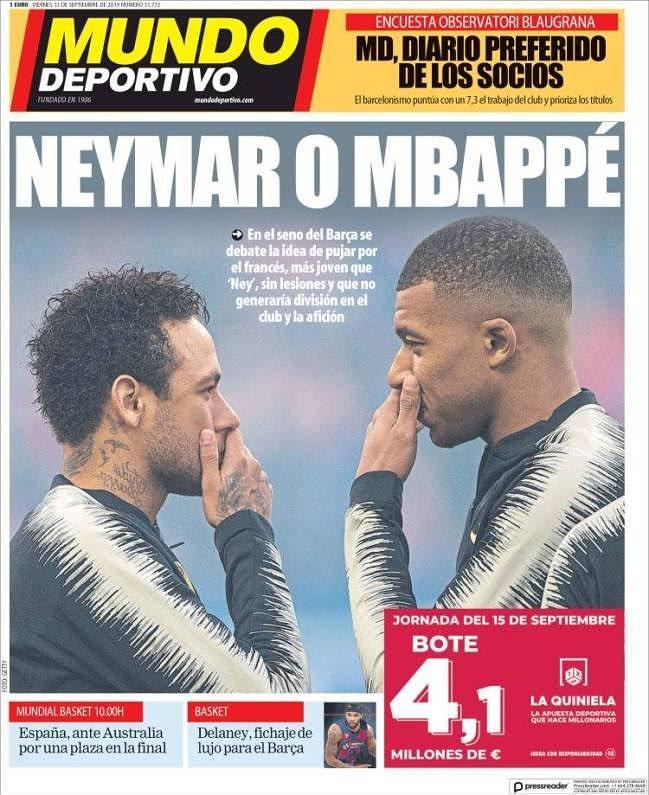 Mbappé o Neymar