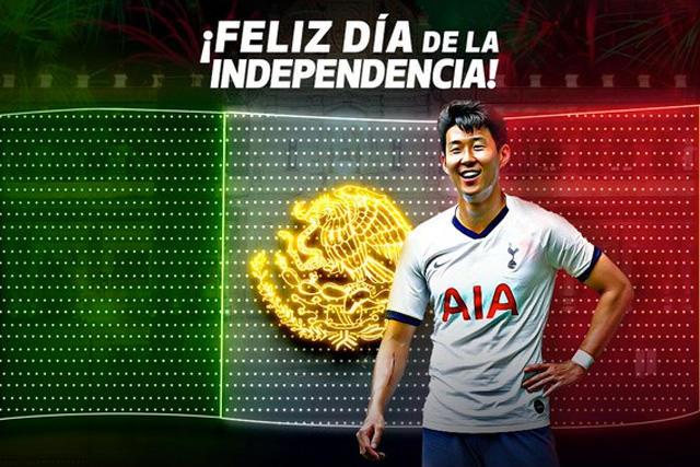 Los Spurs le desearon feliz Día de la Independencia a México