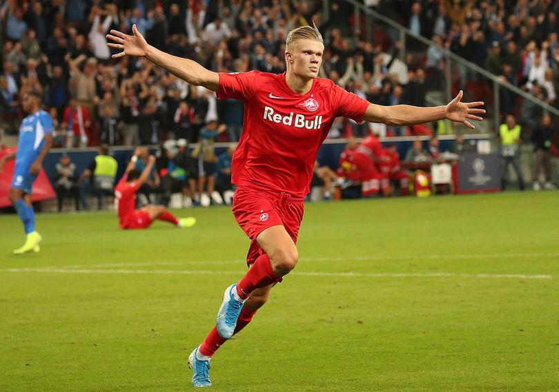 Erling Håland hizo historia en Champions League