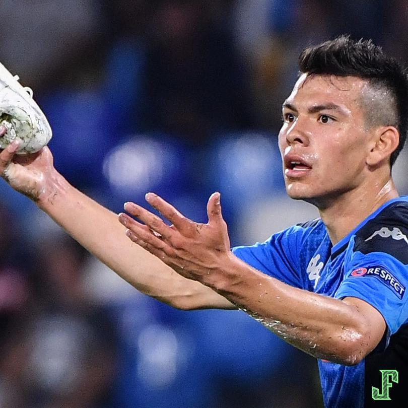 Entró de titular y le jugó bien al Liverpool. Con él, 68 minutos en el campo, el Napoli le hizo frente al actual campeón de la Champions (Napoli 2-0 Liverpool). Grande, Chucky.