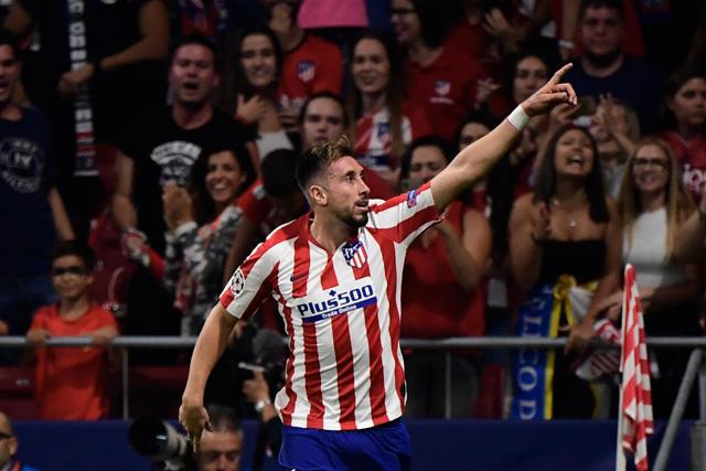Héctor Herrera debutó con gol