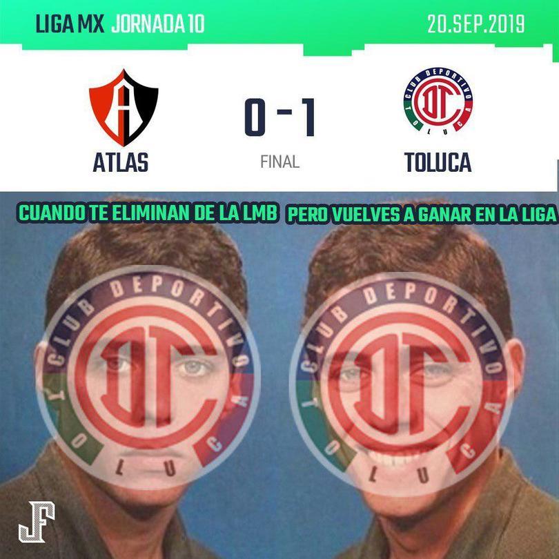 Toluca ganó con gol de Da Silva.