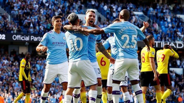 Manchester City goleó al Watford