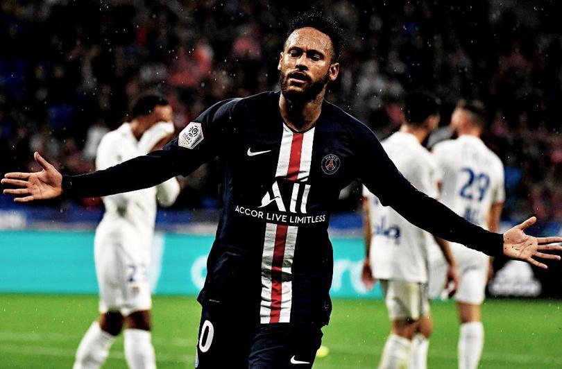 Neymar le dio la victoria al PSG