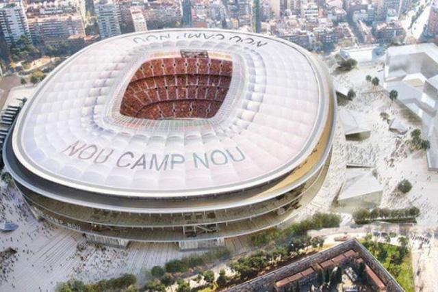 Barcelona estrenará estadio en 2024