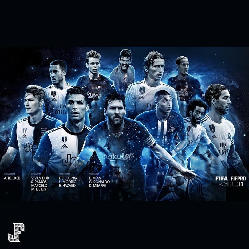 El mejor 11 según FIFA.