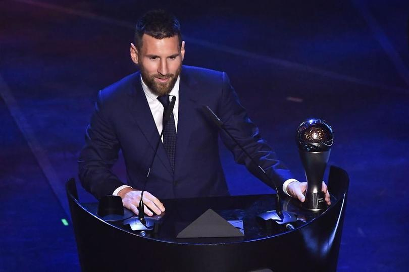 Messi gana el premio The Best