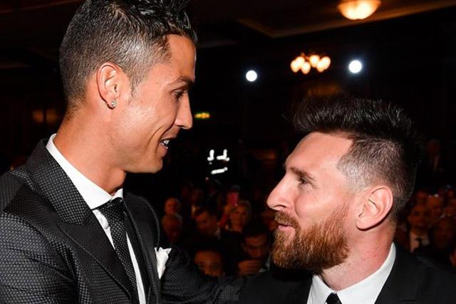 Cristiano Ronaldo fue uno de los elegidos de Messi para ganar el The Best
