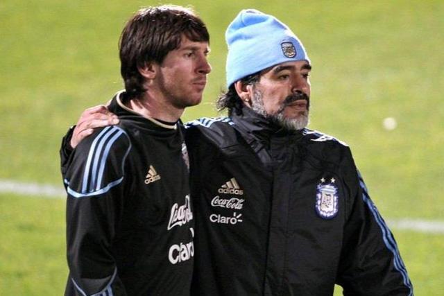 Messi habló sobre el regreso de Maradona a Argentina