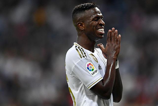 Vinicius lloró después de anotar un gol con el Madrid