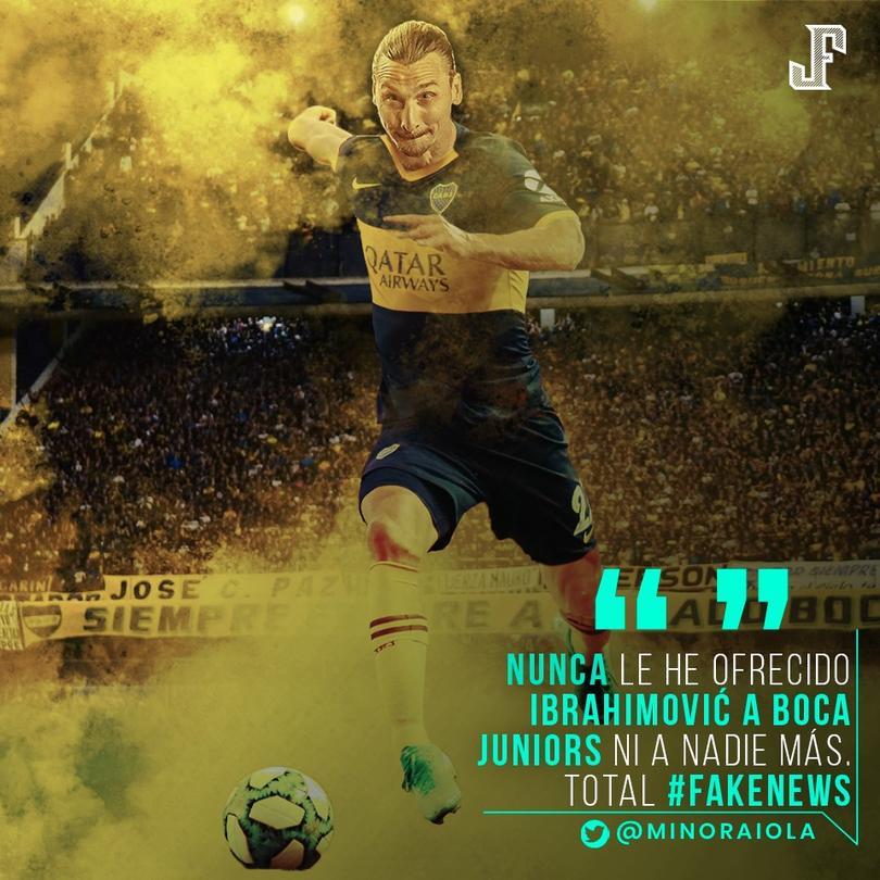 Zlatan a Boca