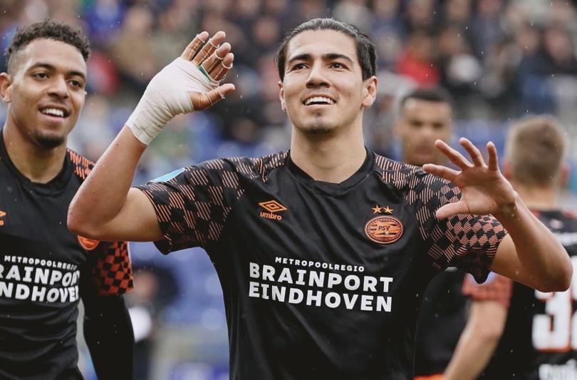 Erick Gutiérrez anotó ante Zwolle
