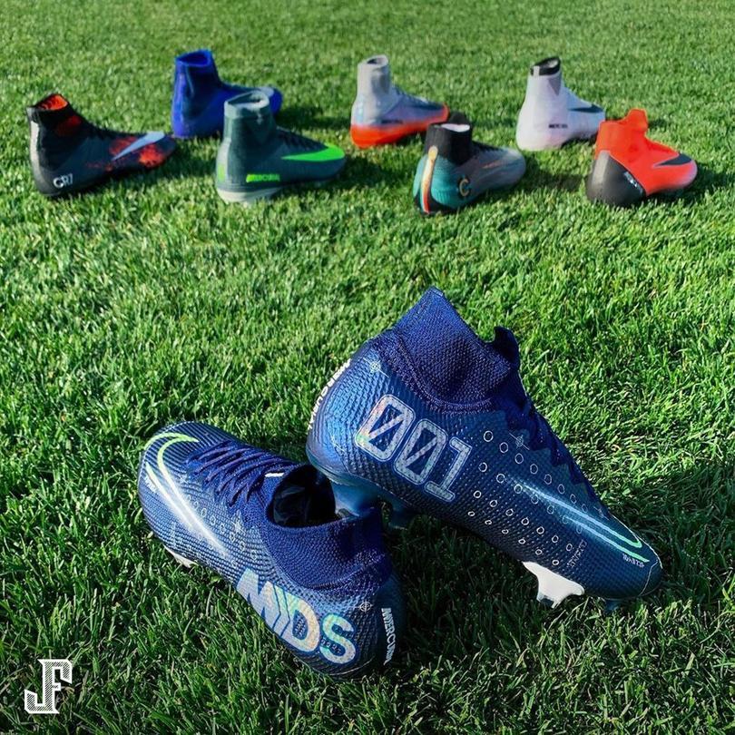 Estos son los nuevos Nike Mercurial Dream Speed que Cristiano Ronaldo estrenará esta semana en Champions con la Juventus.