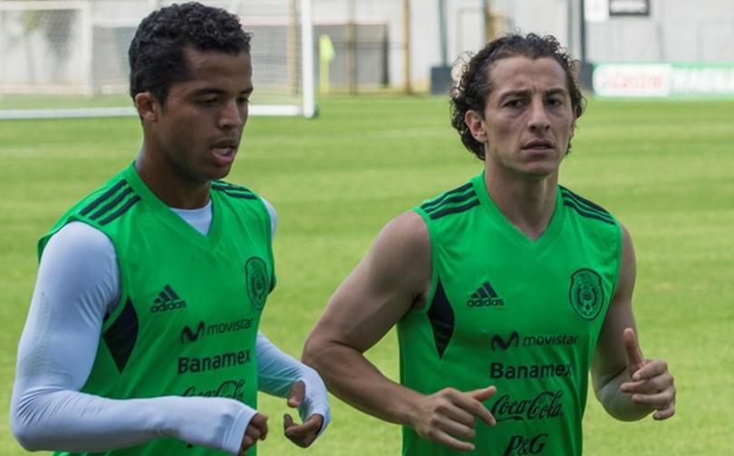Andres Guardado y Giovani Dos Santos