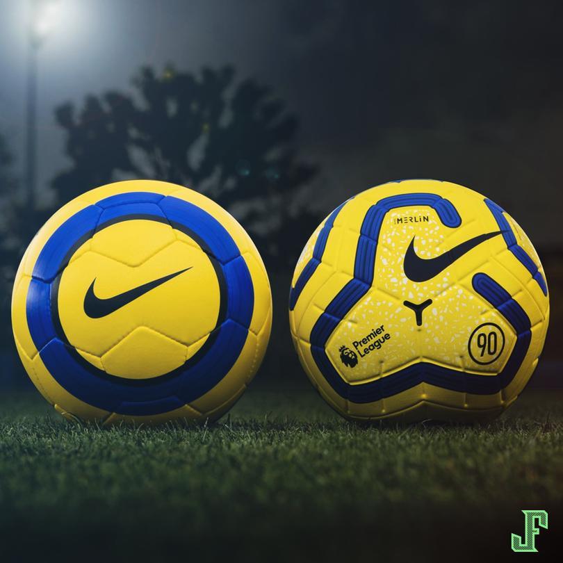 Nike se basó en la edición Total 90 de la temporada 2004/05 para el nuevo balón de invierno de la Premier League.