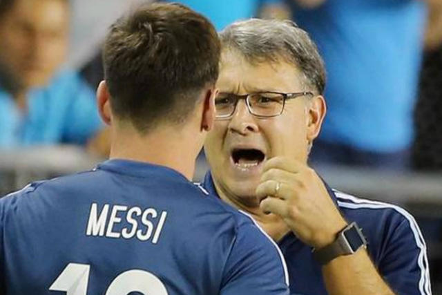 Martino revela por qué no votó por Messi
