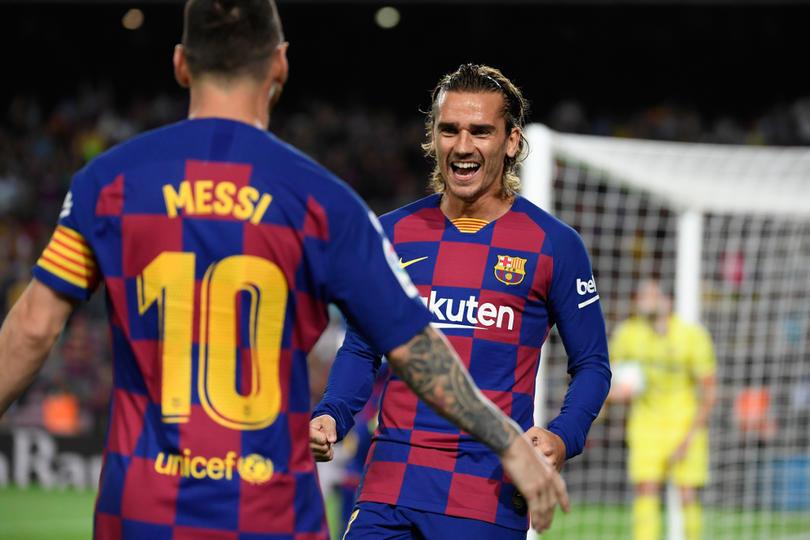 Debido al perfil de Messi en el cuadro catalán, Griezmann confiesa que se le ha complicado la comunicación con él