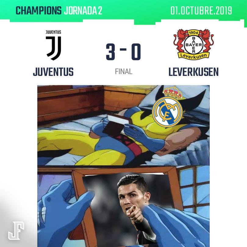 Crónica Juventus vs Bayer Leverkusen