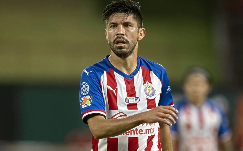 El primer gol de Oribe Peralta con Chivas