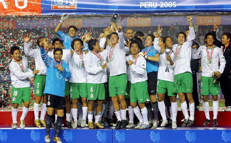 México campeón sub-17 2005