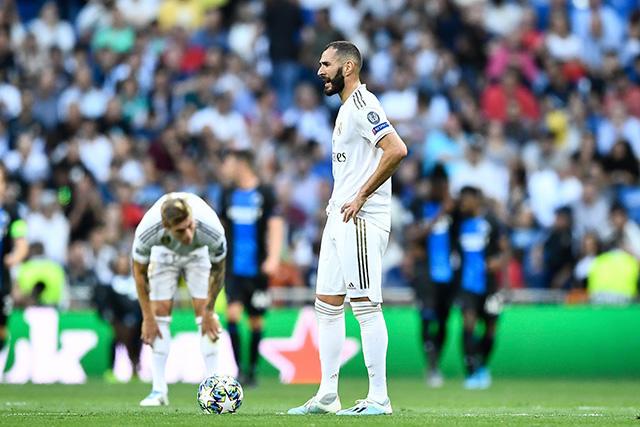 Real Madrid acumula dos derrotas y un empate