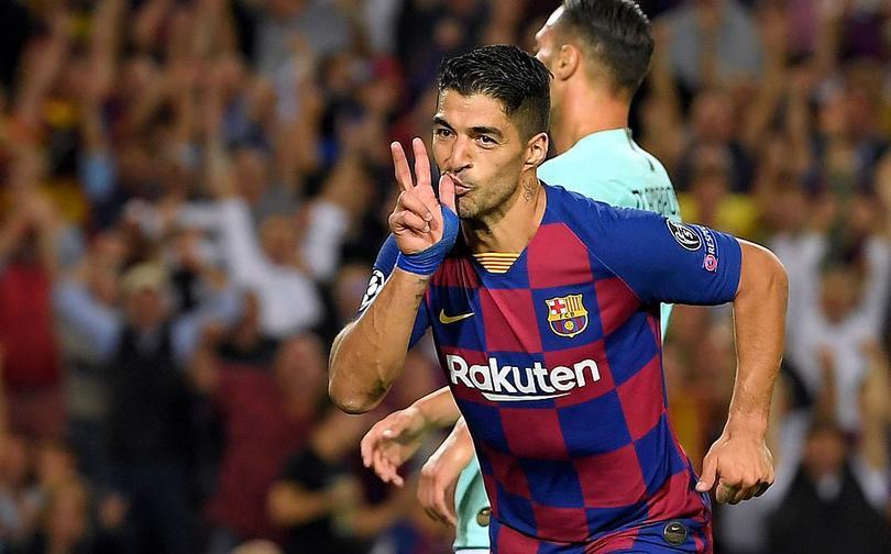 Barcelona le remontó al Inter con dos goles de Luis Suárez