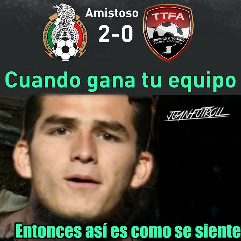 Los mejores memes del triunfo de México sobre Trinidad y Tobago