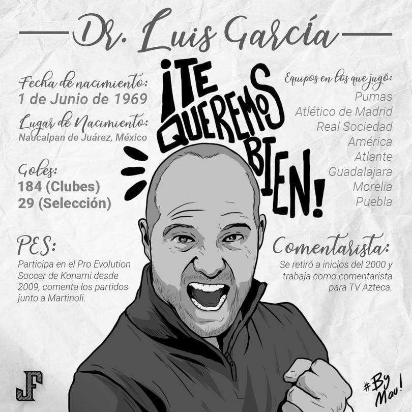 ¿Quién es Luis García?