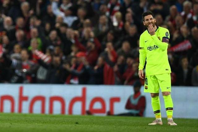 Barcelona muestra a sus jugadores tras la derrota contra el Liverpool