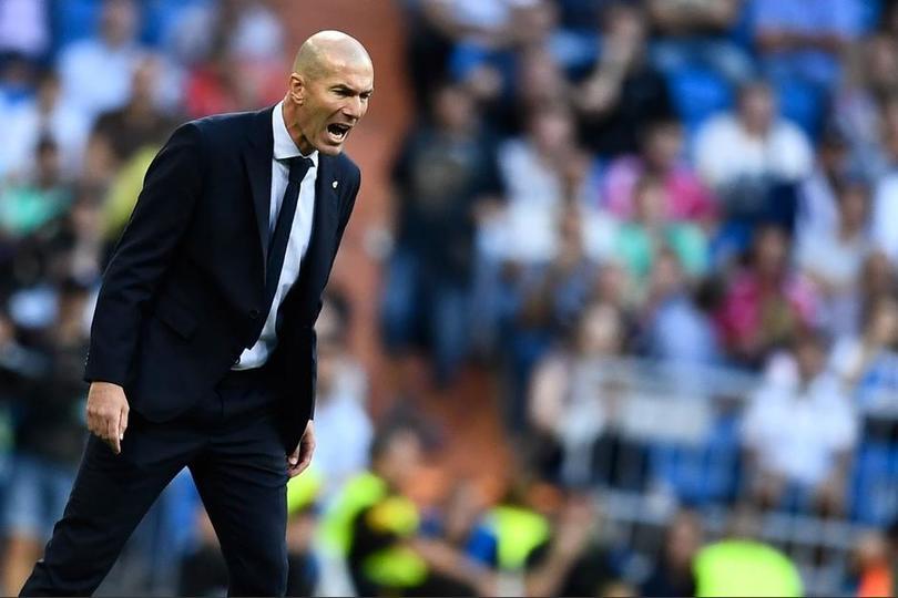 Zidane defiende a Courtois ante las críticas