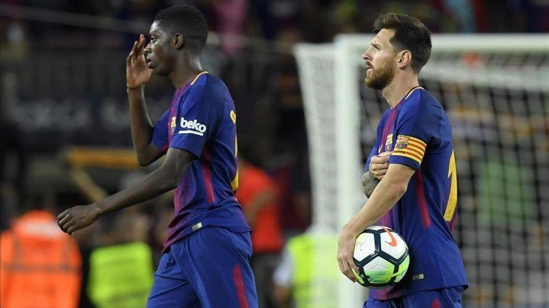 Messi estaría harto de Dembélé y ya habría pedido a su sustituto
