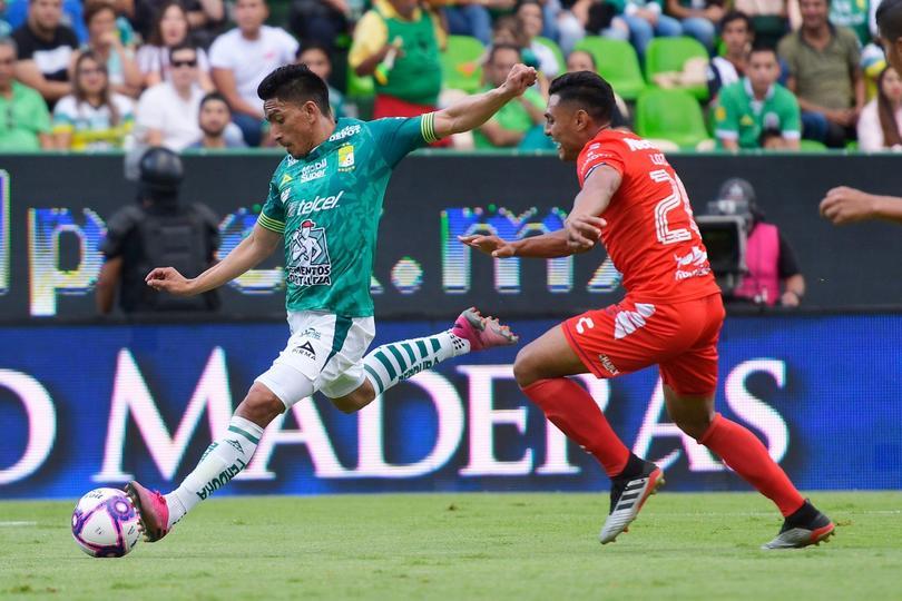 León y Veracruz empataron a un gol