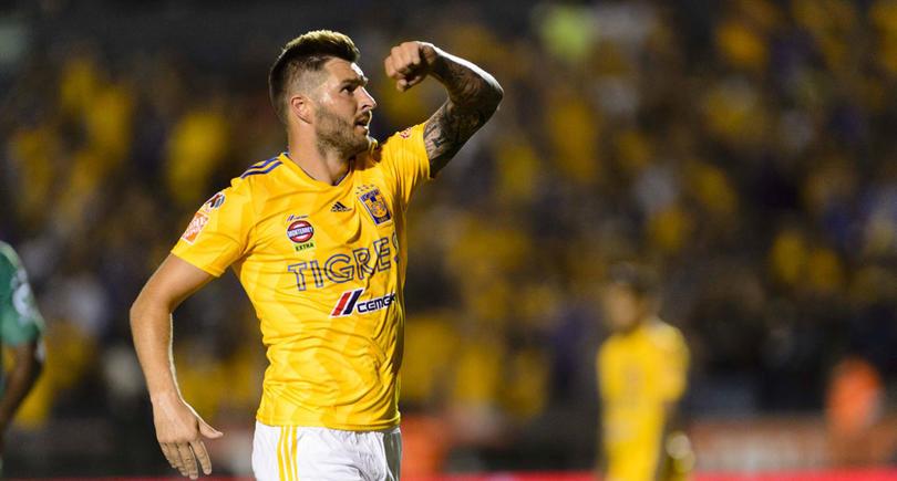 Gignac festeja gol ante Santos con foto en Instagram