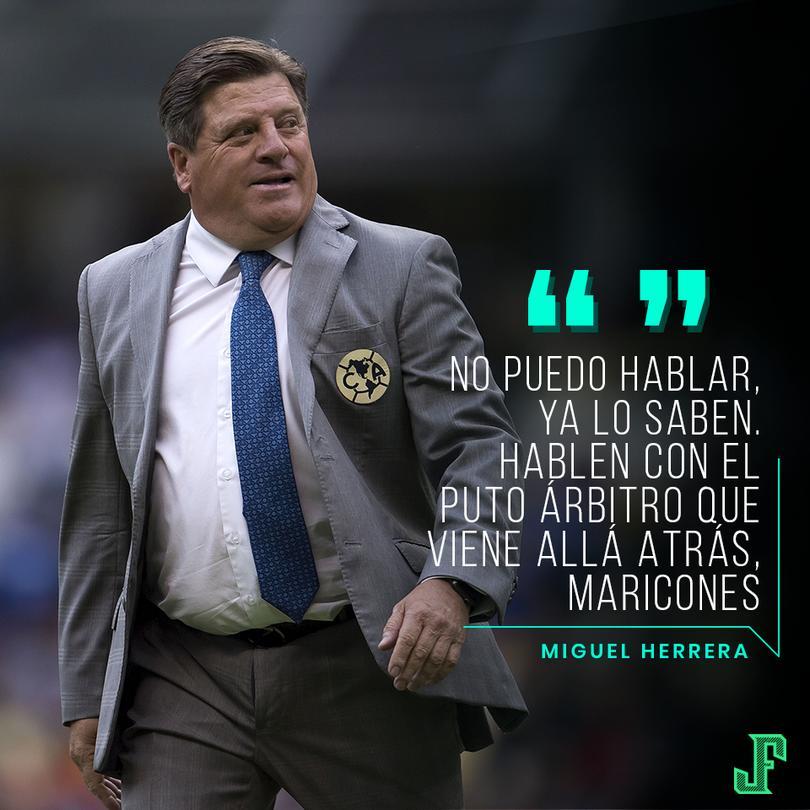 Las palabras del Piojo Herrera saliendo del Estadio Azteca