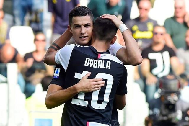 Cristiano Ronaldo cambió a Marcelo por Dybala