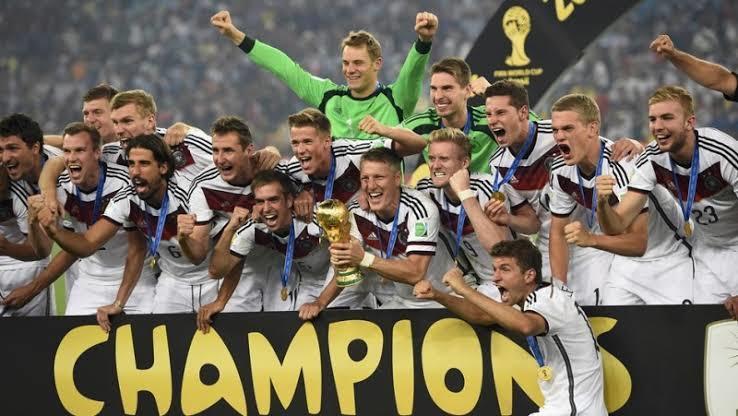 Alemania consiguió el Mundial 2014