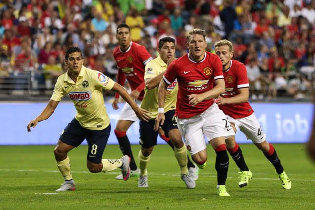 Schweinsteiger debuto en un amistoso ante el América
