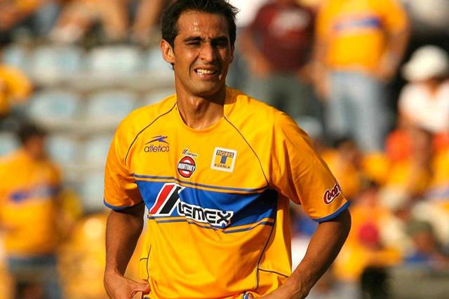Walter Gaitán en su etapa con Tigres