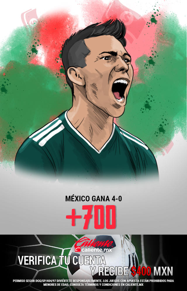 Si crees que la selección mexicana le gana por 4-0 a Bermudas, apuesta en Caliente y llévate mucho dinero.