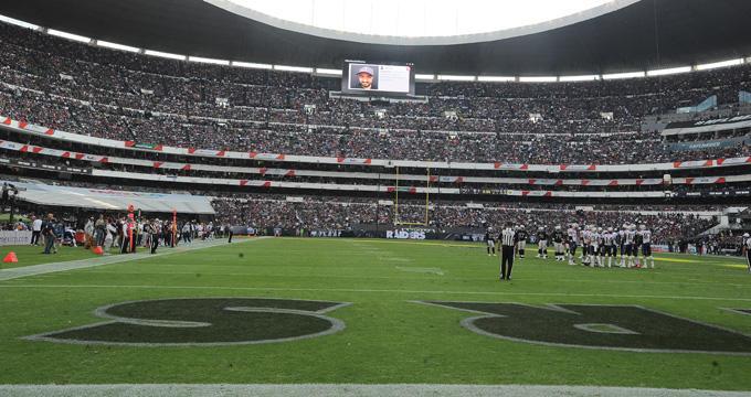 Juego de la NFL en México haría que el Tri se vaya del Azteca